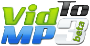 VIDtoMP3 Logo